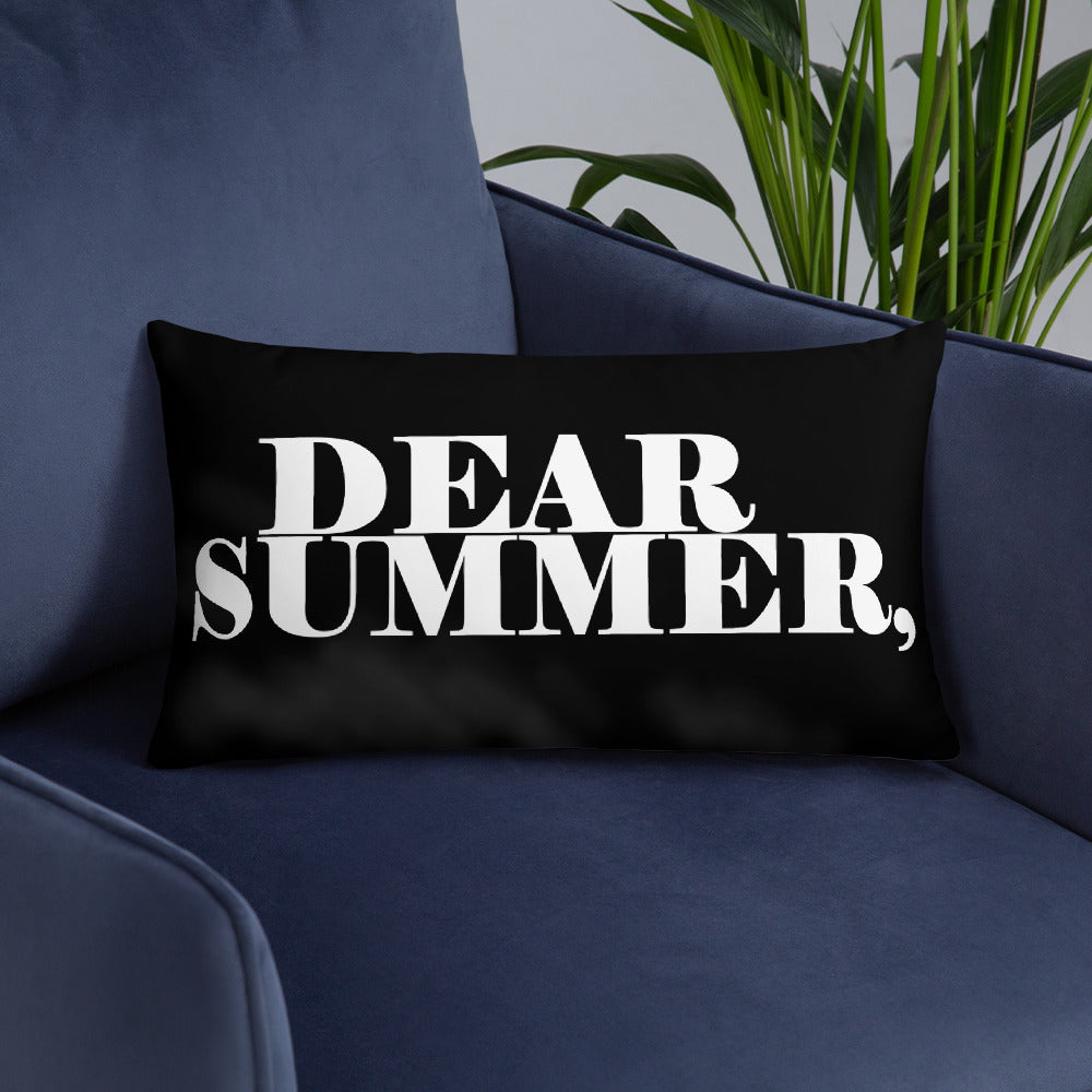 DEAR SUMMER, Basic Pillow