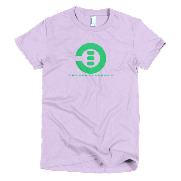 Short sleeve women's t-shirt - THREEKEYSBRAND