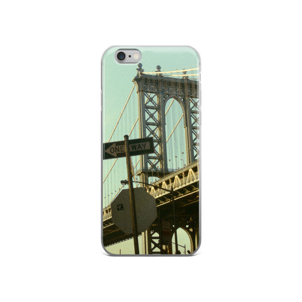 ONE WAY TO BROOKLYN iphone 5/5s/se, 6/6s Plus case