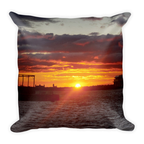 BK SUNSET PILLOW - THREEKEYSBRAND