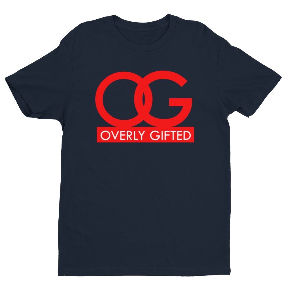 OG STATUS-OVERLY GIFTED RED - THREEKEYSBRAND