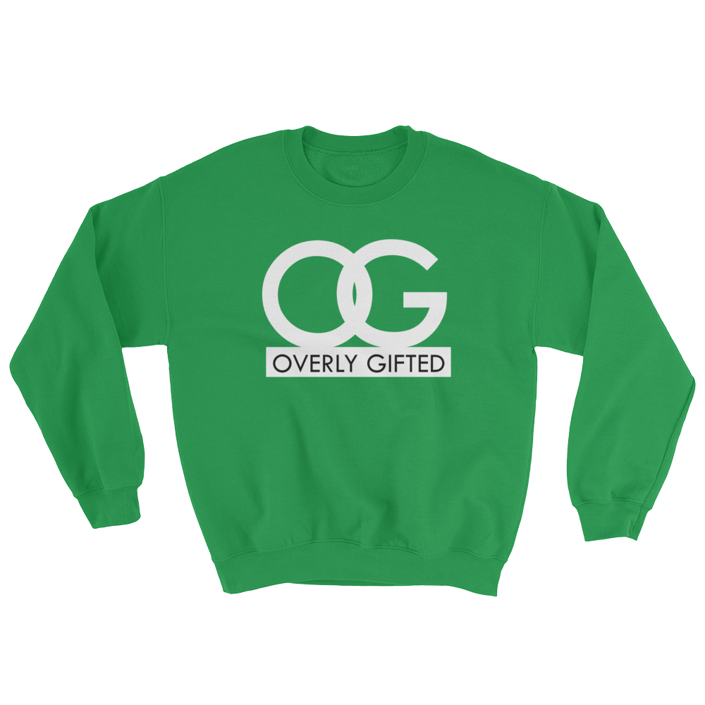 OG-OVERLY GIFTED ALL WHITE - THREEKEYSBRAND