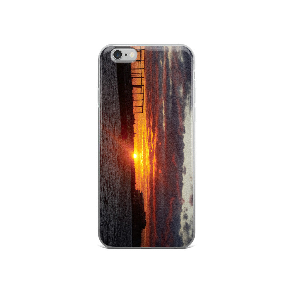 BROOKLYN SUNSET Apple iPhone 5/5S/SE, 6/6S PLUS case - THREEKEYSBRAND