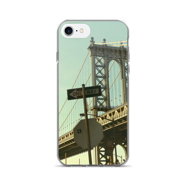 ONE WAY TO BROOKLYN iPhone 7/7 Plus Case