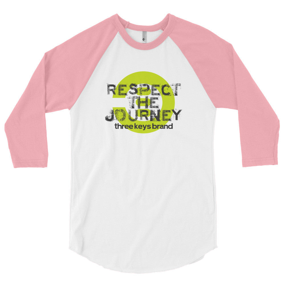 RESPECT THE JOURNEY-LIME GREEN - THREEKEYSBRAND