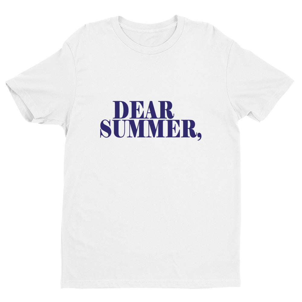 DEAR SUMMER, BLUE & WHITE - THREEKEYSBRAND