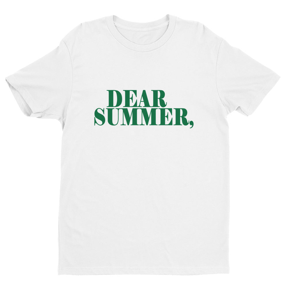 DEAR SUMMER, HUNTER GREEN - THREEKEYSBRAND