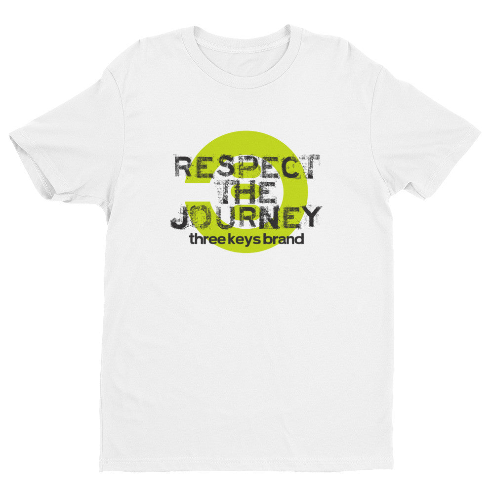 RESPECT THE JOURNEY LIME GREEN COLORWAY - THREEKEYSBRAND