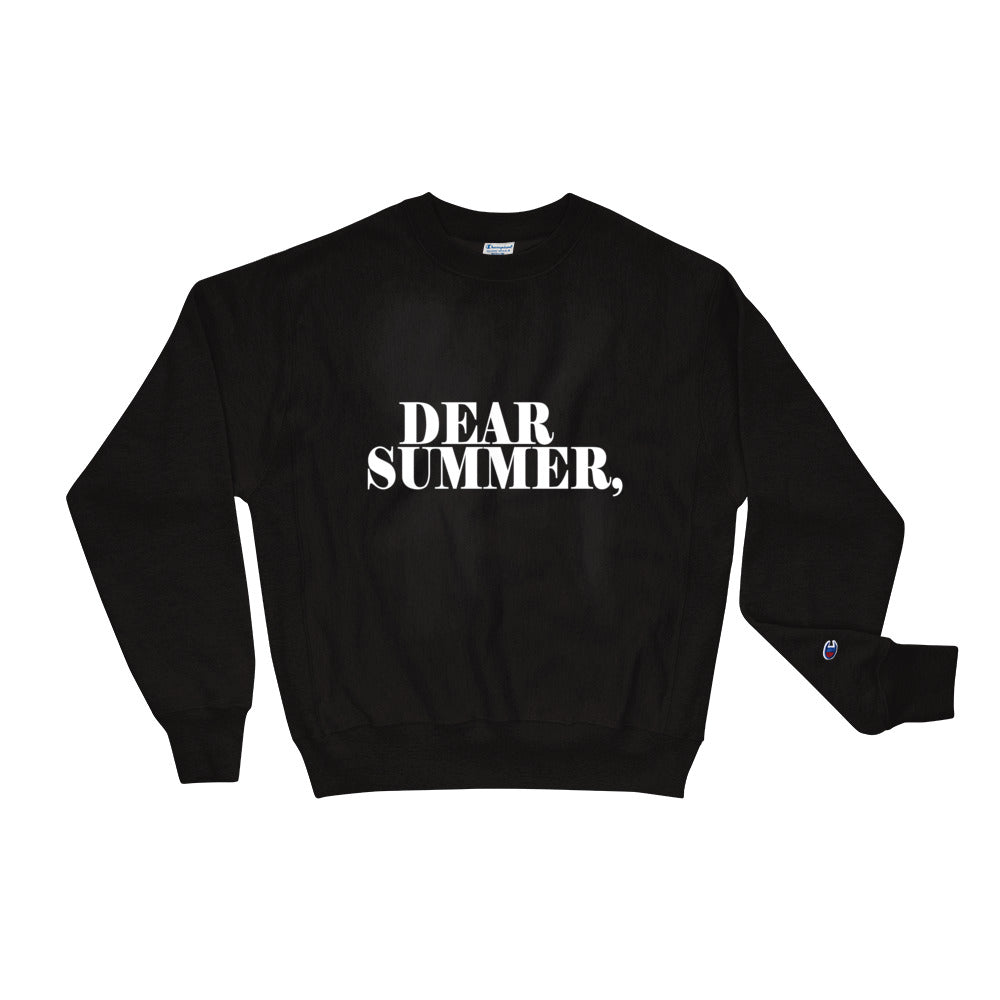 DEAR SUMMER, BLACK & WHITE Sweatshirt - THREEKEYSBRAND