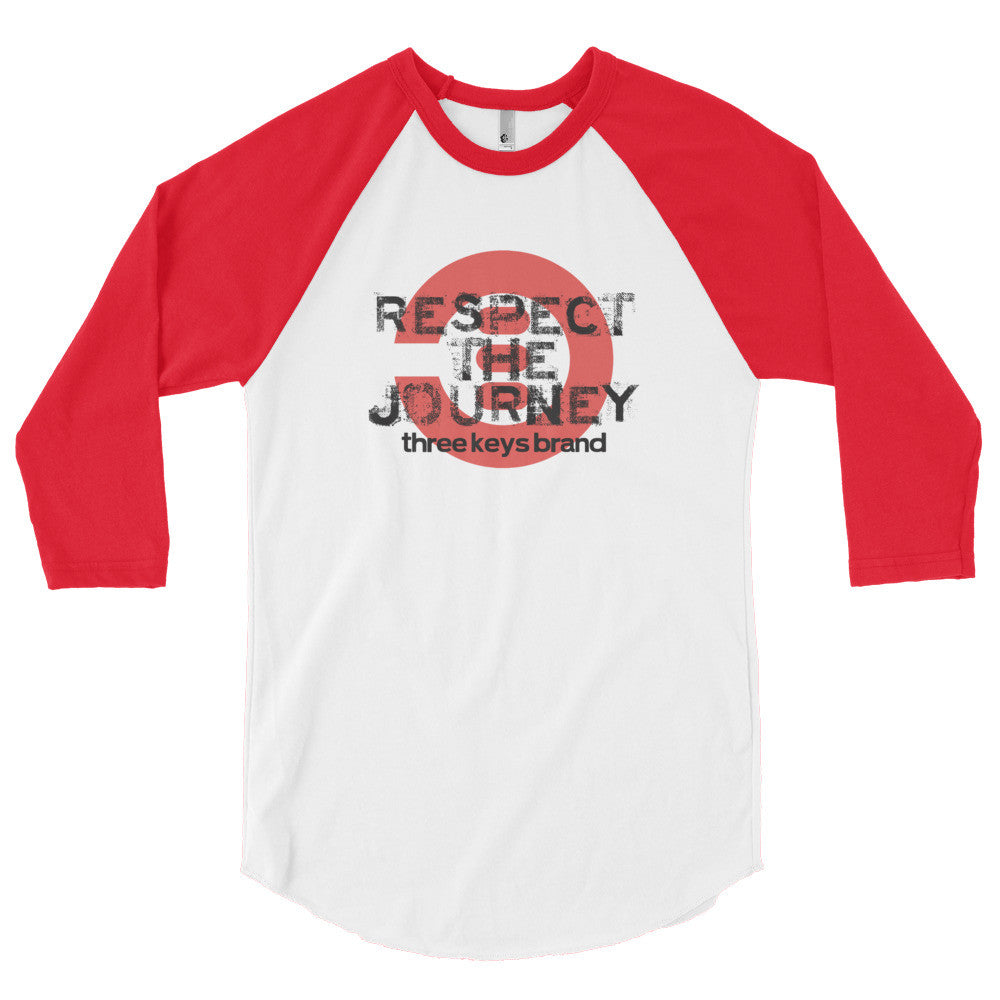 RESPECT THE JOURNEY RED XCLUSIVE - THREEKEYSBRAND