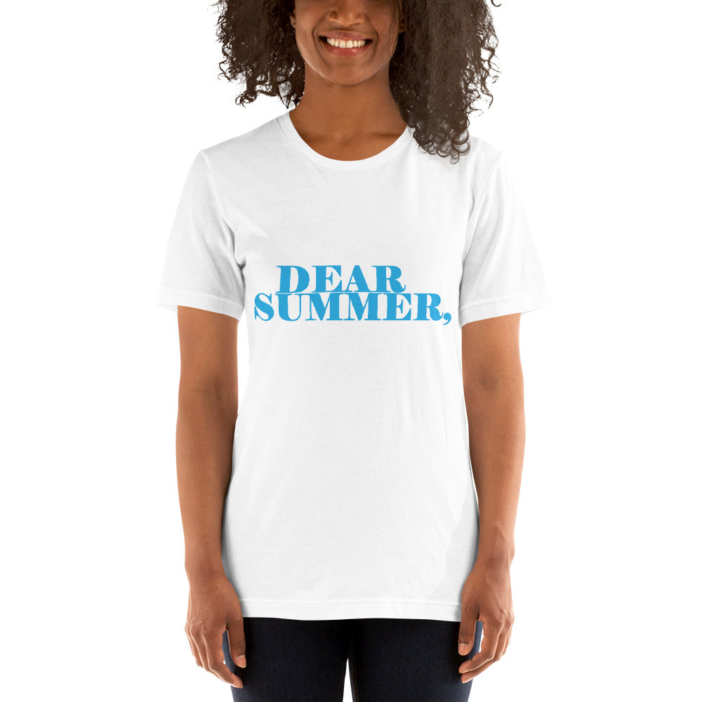 DEAR SUMMER WHITE & LIGHT BLUE WOMENS