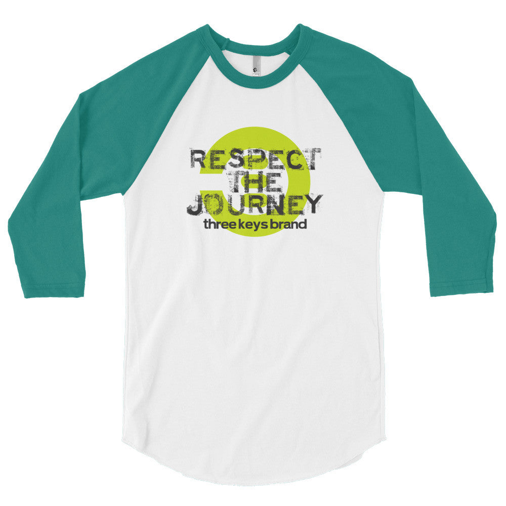 RESPECT THE JOURNEY-LIME GREEN