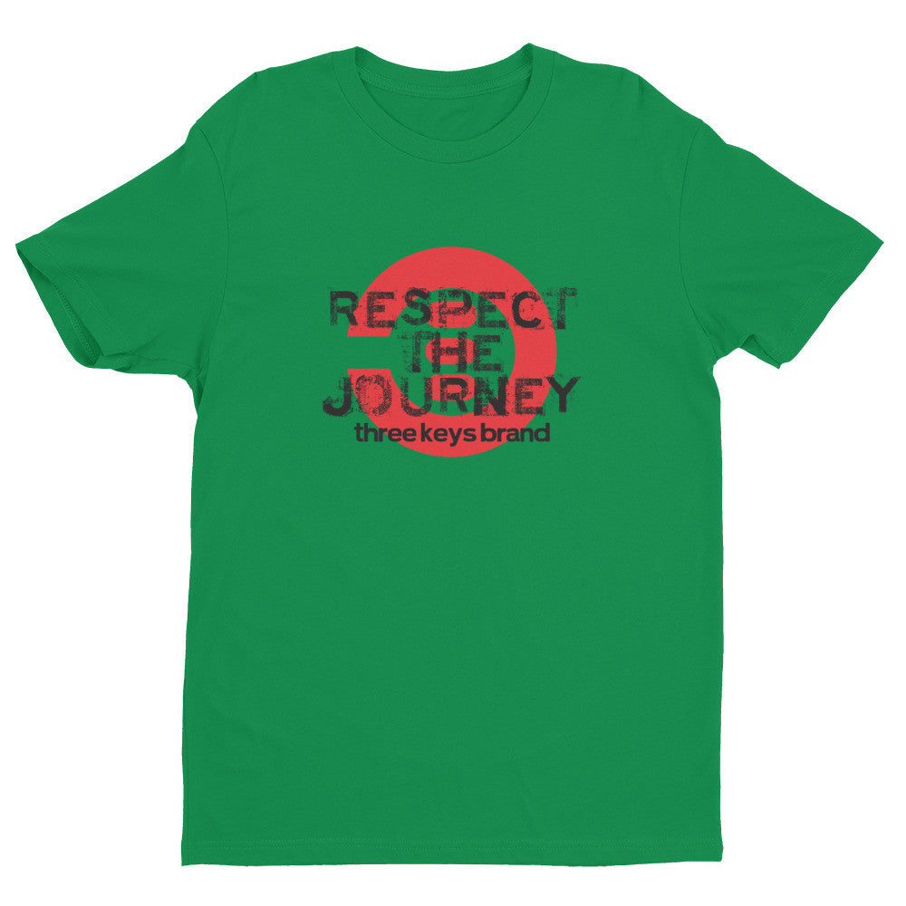 RESPECT THE JOURNEY RED COLORWAY - THREEKEYSBRAND