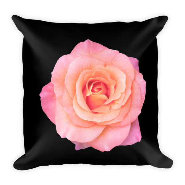 PINK PILLOW BLACKGROUND - THREEKEYSBRAND