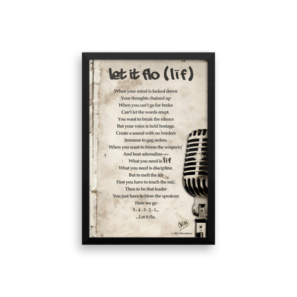 LIF POEM LET IT FLO - THREEKEYSBRAND
