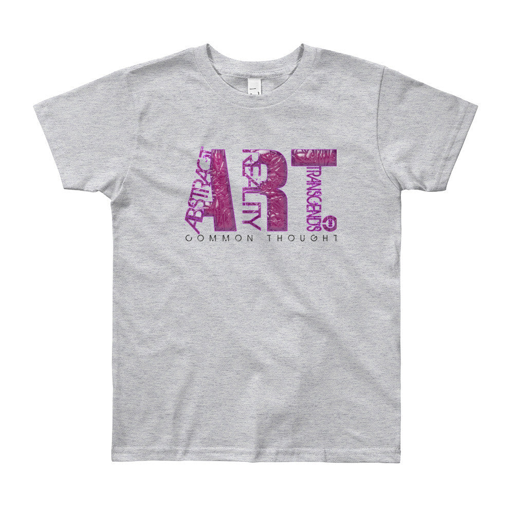 ART Youth Short Sleeve T-Shirt - THREEKEYSBRAND