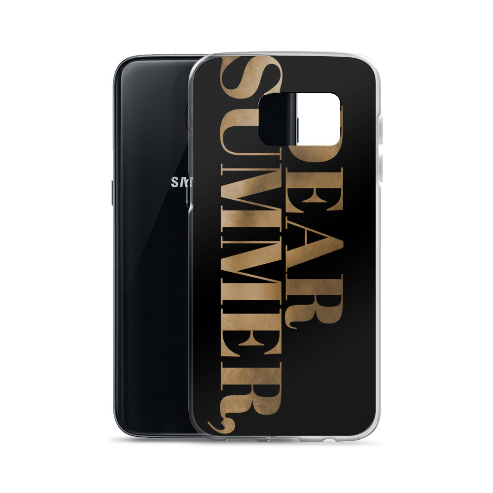 DEAR SUMMER, Samsung Case