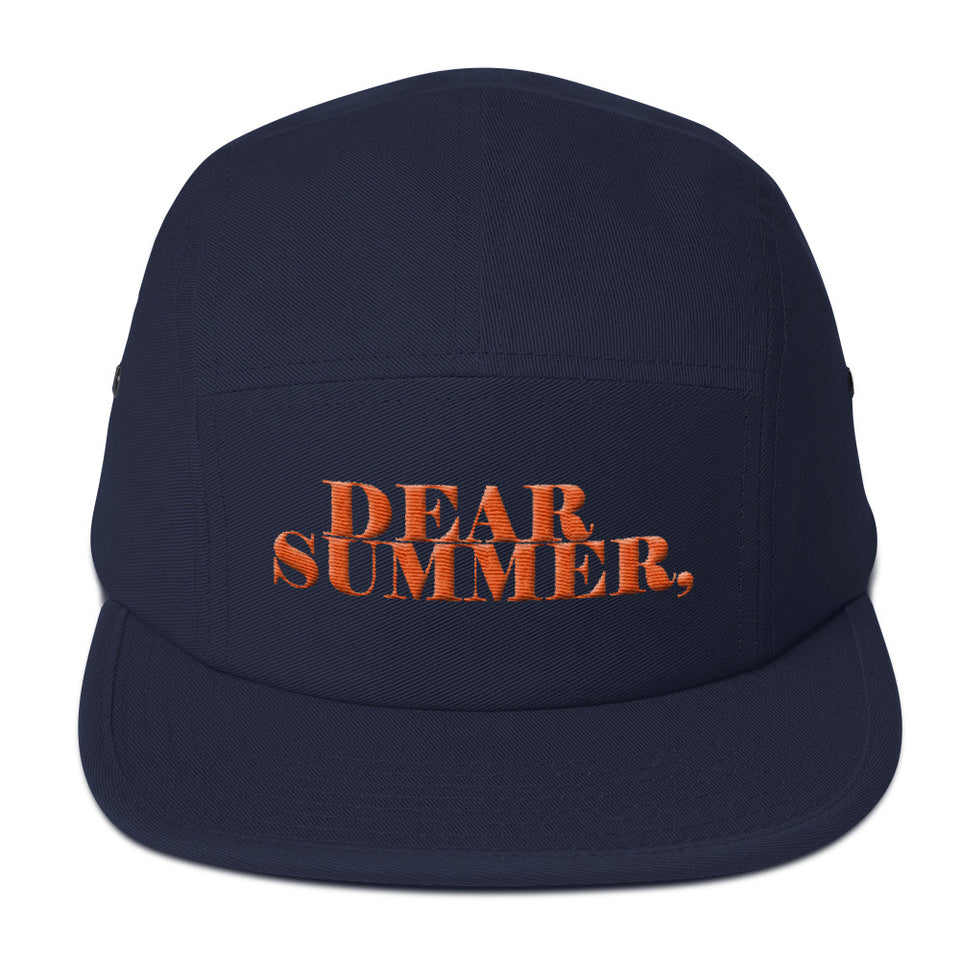 DEAR SUMMER, BLUE AND ORANGE 5 Panel Camper