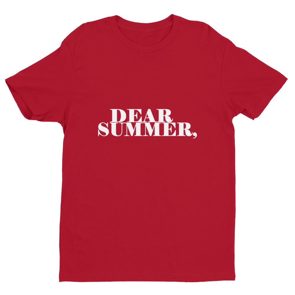 DEAR SUMMER, RED & WHITE MENS - THREEKEYSBRAND