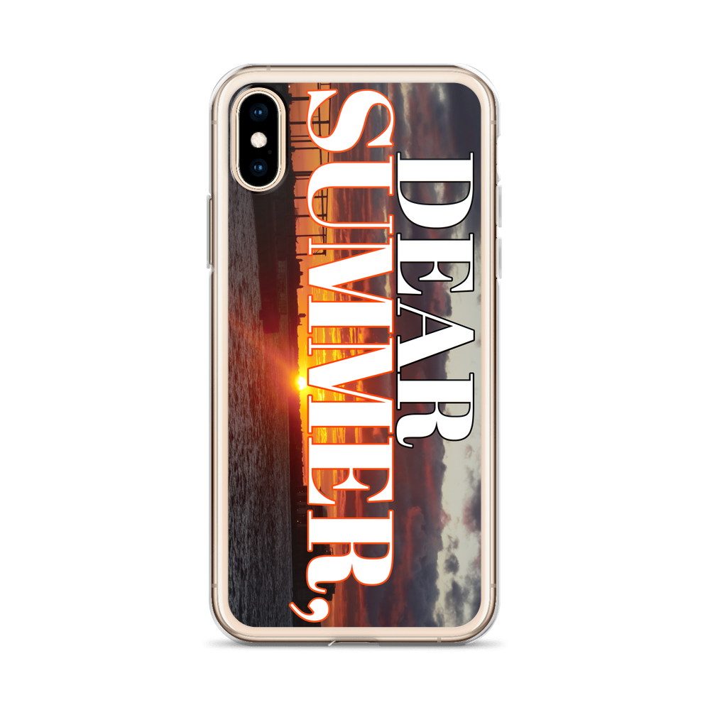 DEAR SUMMER, BROOKLYN SUNSET iPhone Case - THREEKEYSBRAND