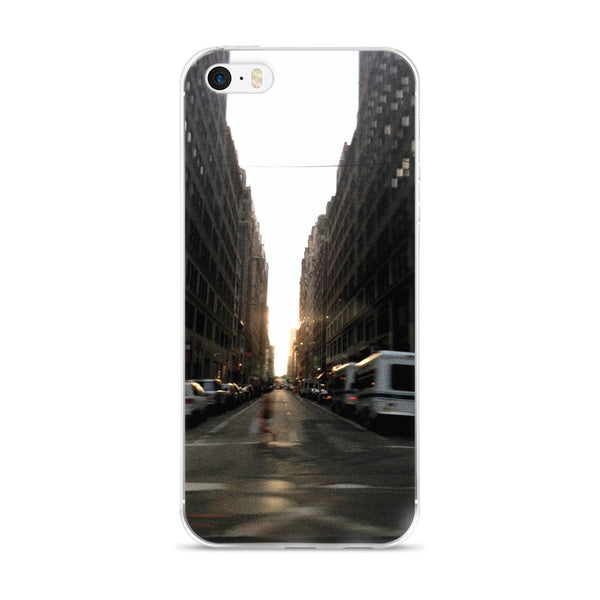 NYC BLUR iphone 5/5s/se, 6/6s Plus case
