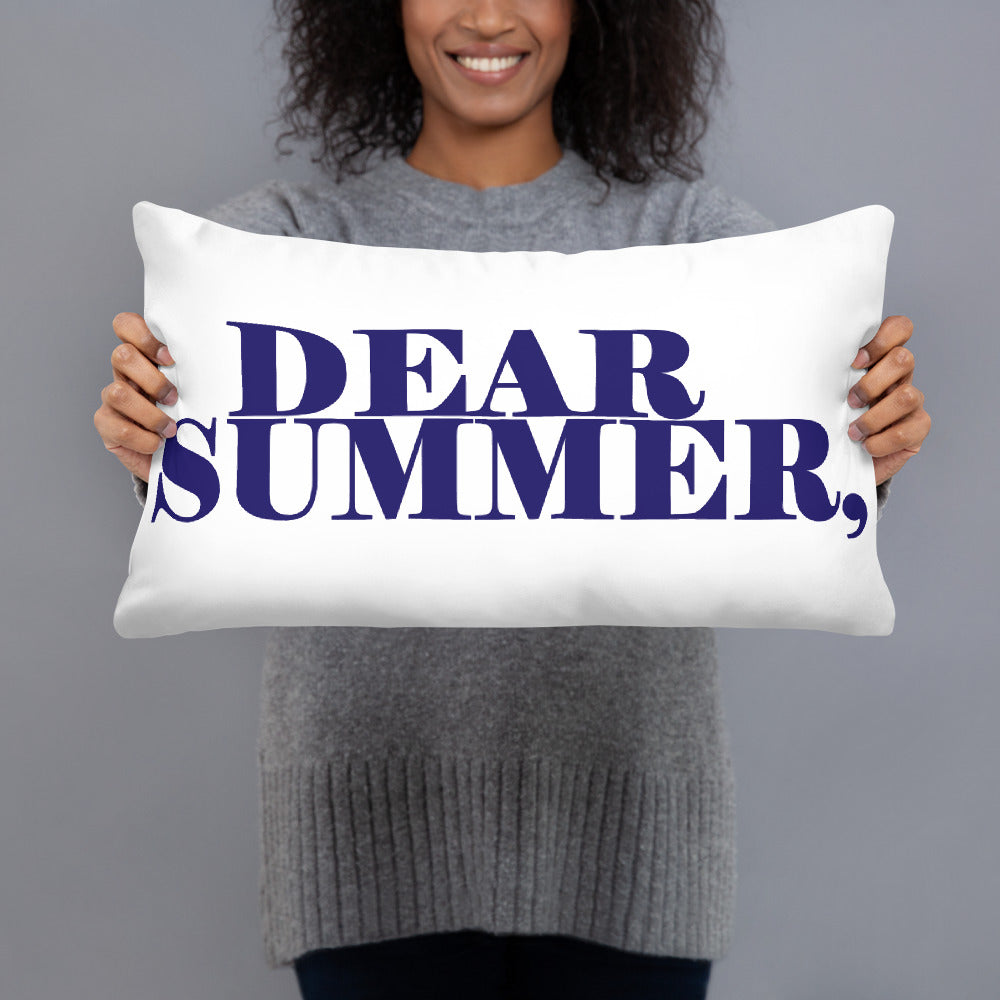 DEAR SUMMER Basic Pillow - THREEKEYSBRAND