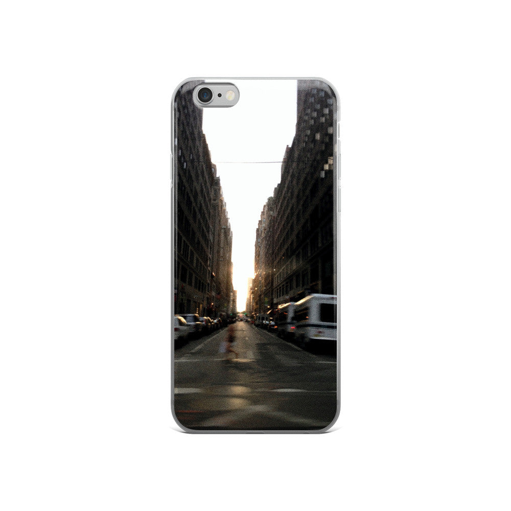 NYC BLUR iphone 5/5s/se, 6/6s Plus case - THREEKEYSBRAND