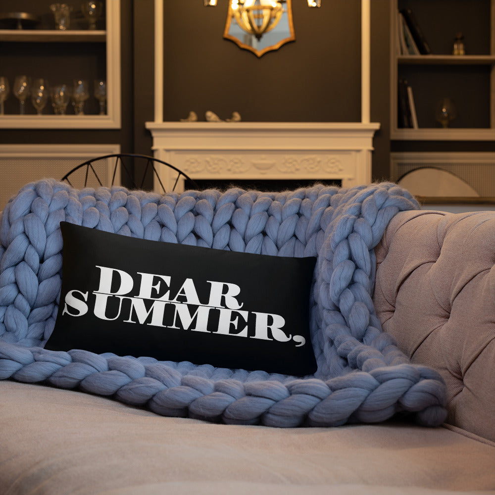 DEAR SUMMER, Basic Pillow - THREEKEYSBRAND