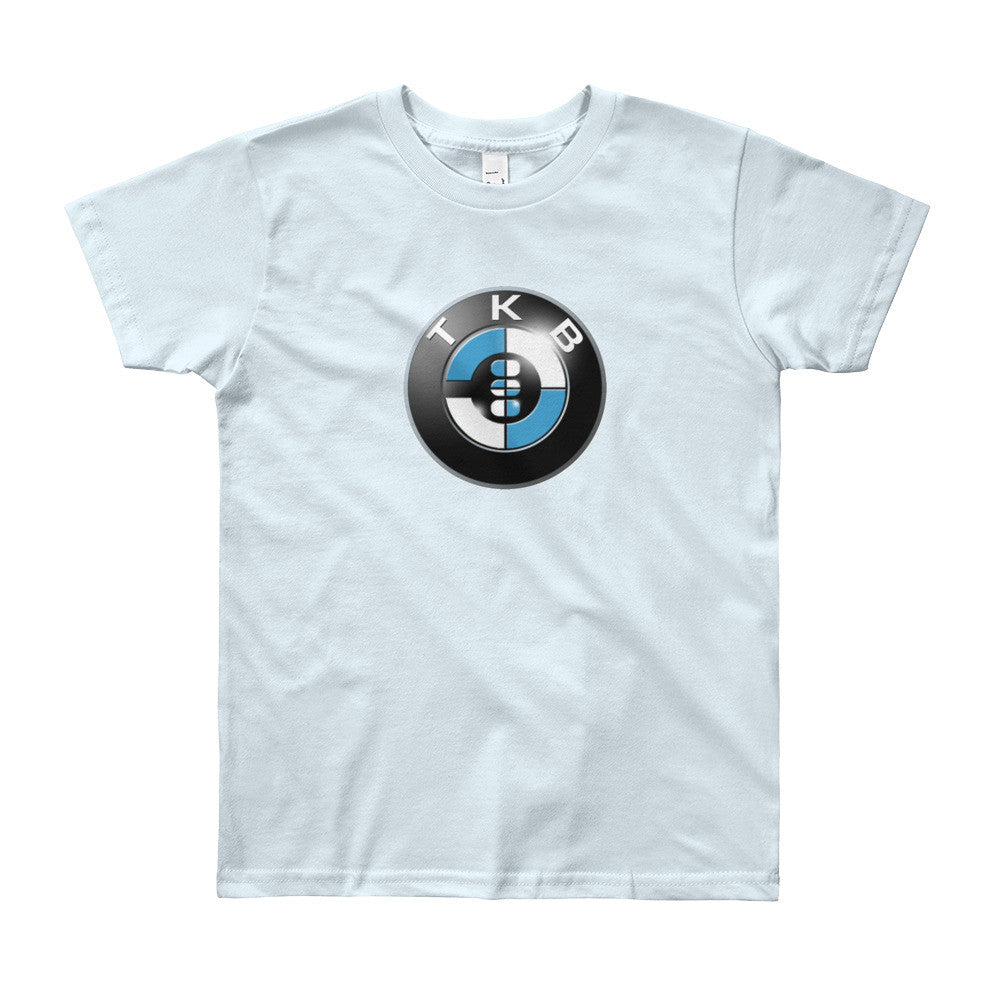 Baby BMW Youth Short Sleeve T-Shirt - THREEKEYSBRAND