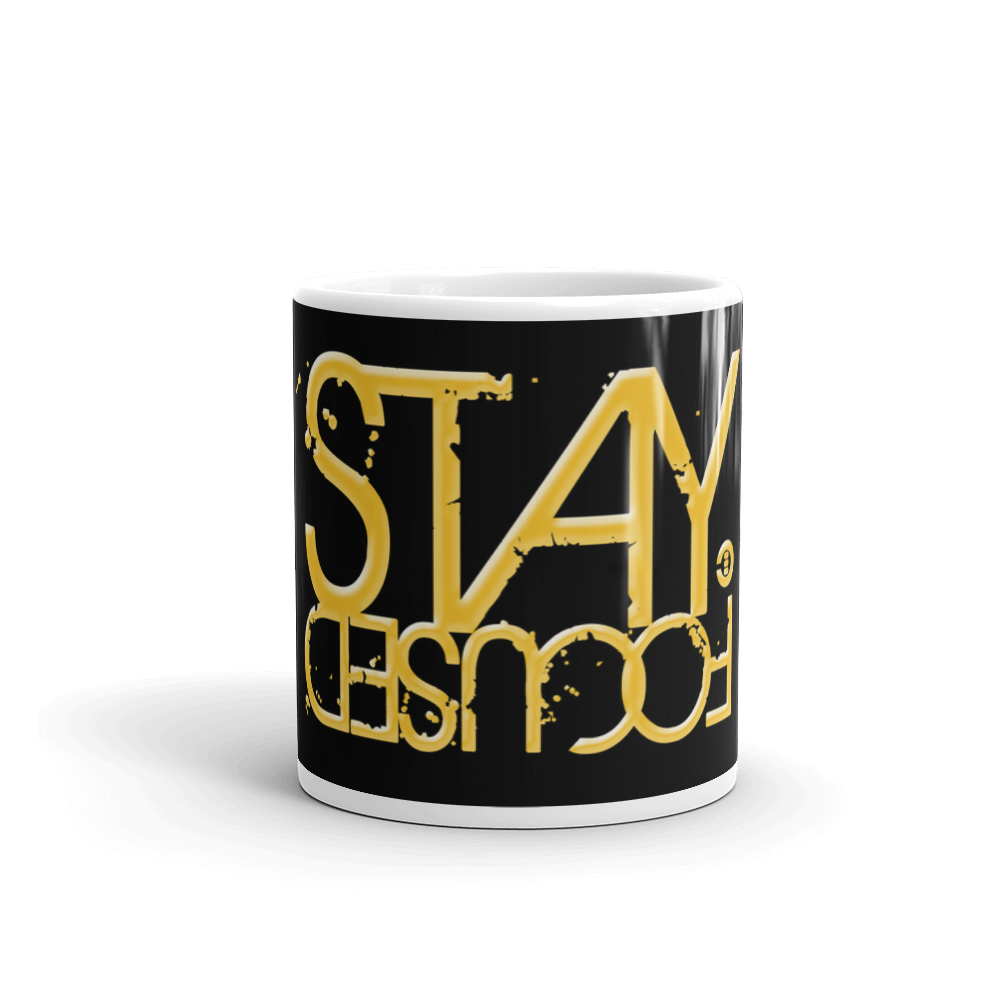 STAY FOCUSED Mug - THREEKEYSBRAND