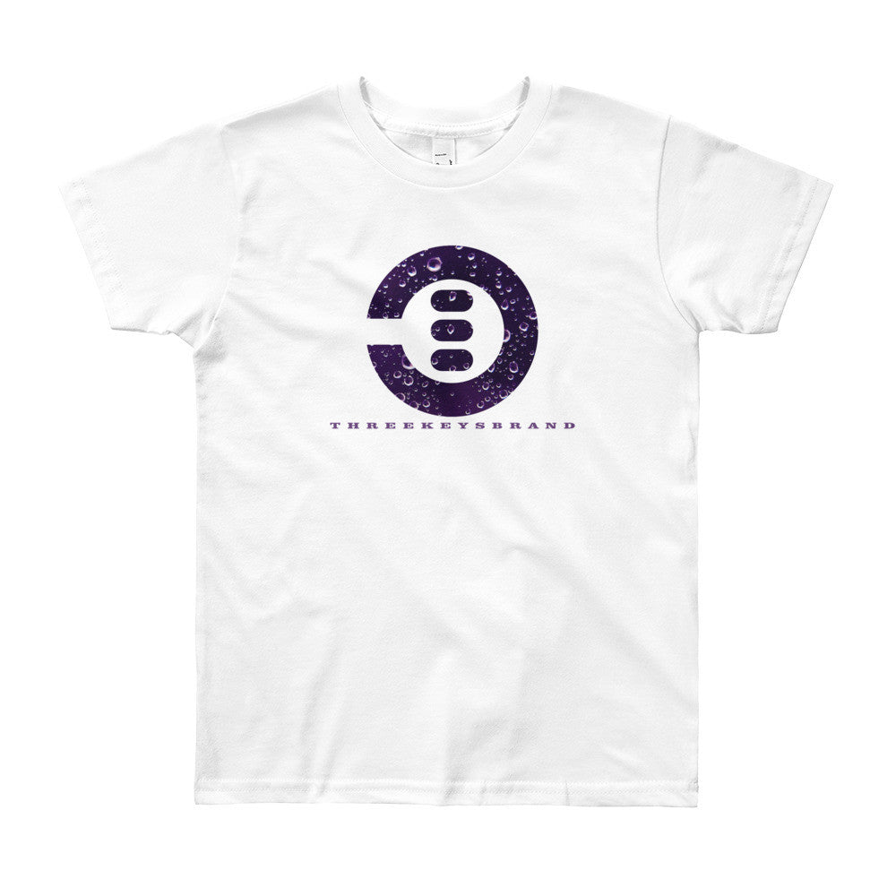 Purple Rain 3Keys logo Kids t shirt