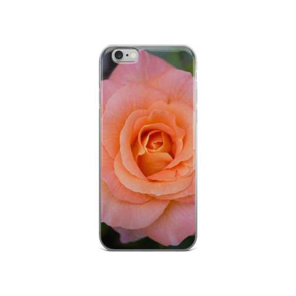 PINK GARDEN ROSE iphone 6/6s Plus case - THREEKEYSBRAND