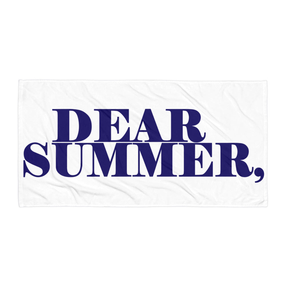 DEAR SUMMER BEACH Towel