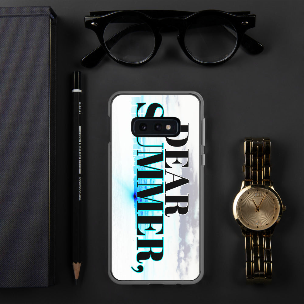 DEAR SUMMER COLOR SUNSET Samsung Case - THREEKEYSBRAND