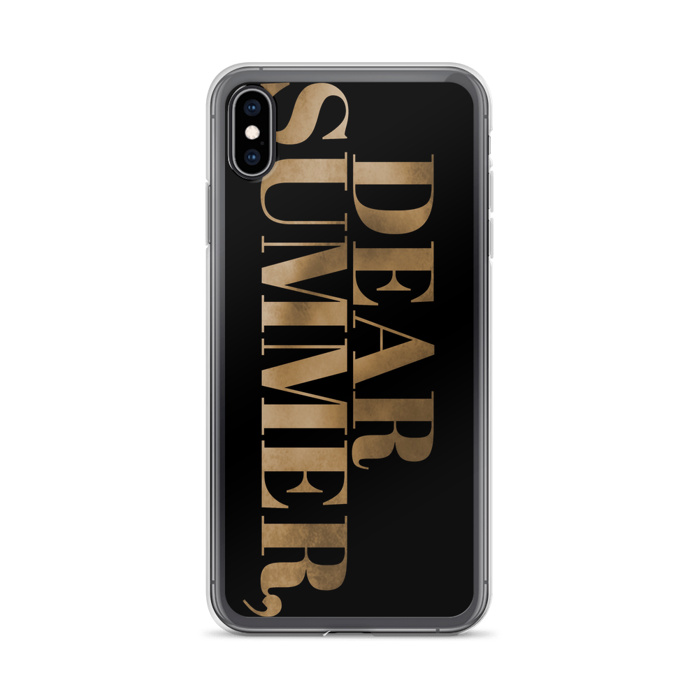 DEAR SUMMER, iPhone Case - THREEKEYSBRAND