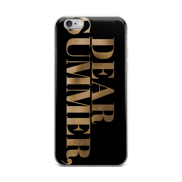 DEAR SUMMER, iPhone Case