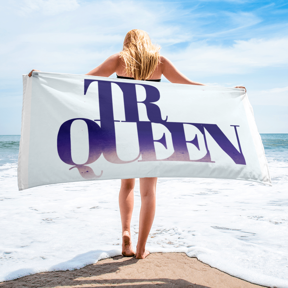 TRUE QUEEN Towel - THREEKEYSBRAND