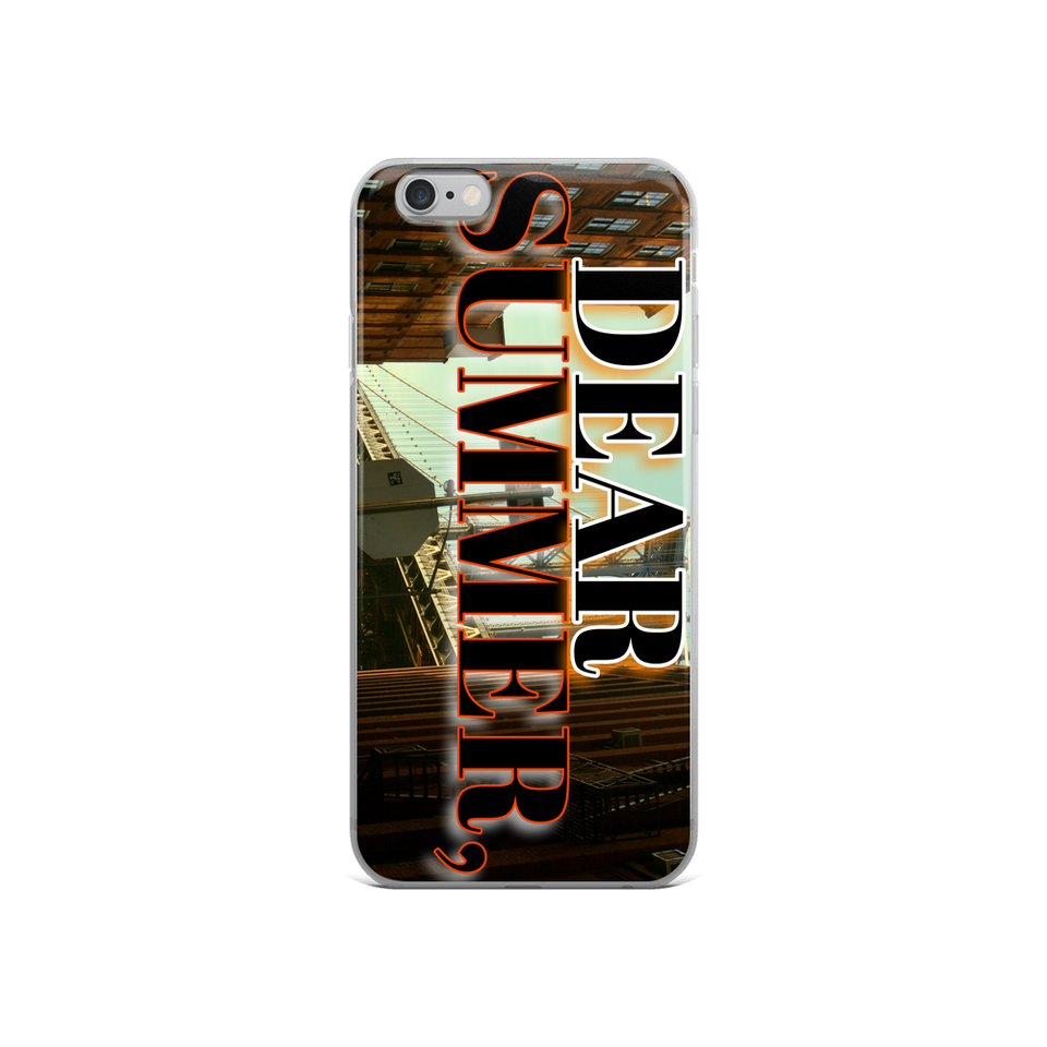 DEAR SUMMER iPhone Case - THREEKEYSBRAND