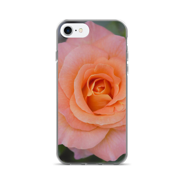 PINK GARDEN ROSE iPhone 7/7 Plus Case