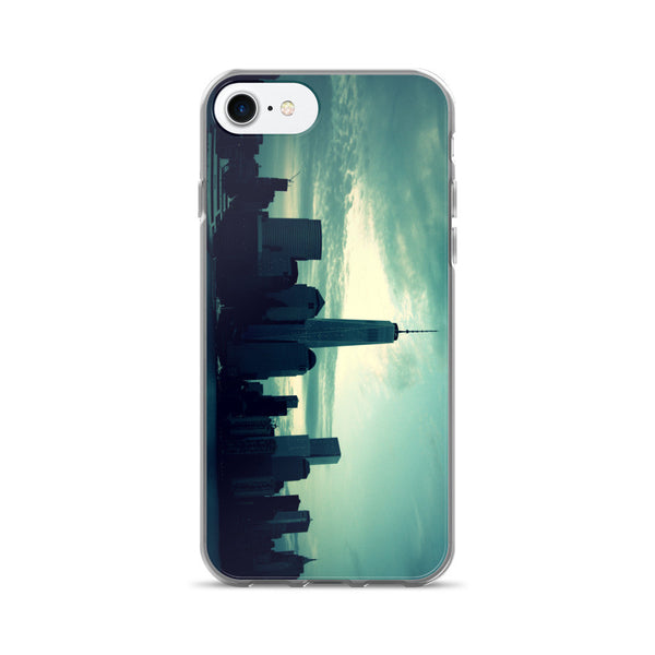 BLUE YORK SKYLINE iPhone 7/7 Plus Case