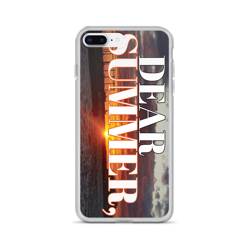 DEAR SUMMER, BROOKLYN SUNSET iPhone Case