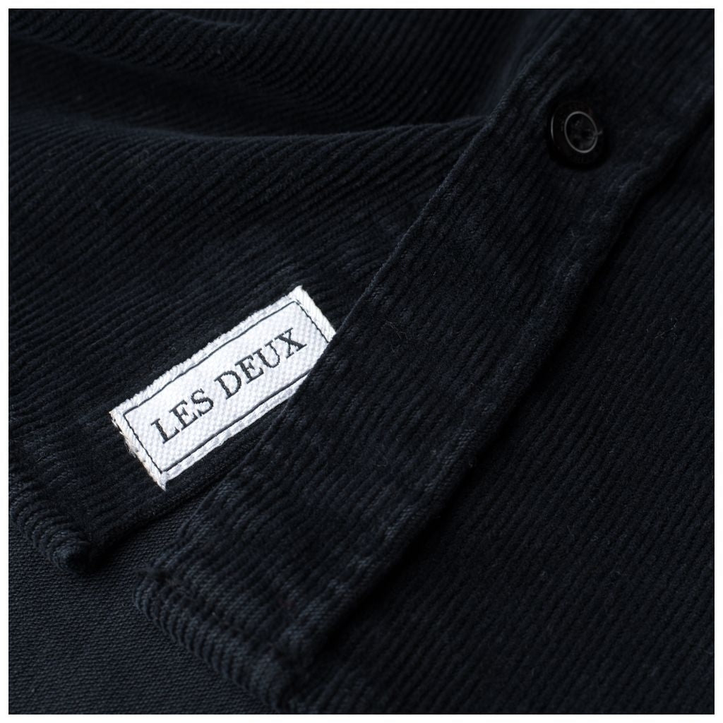 Felix corduroy shirt - dark navy