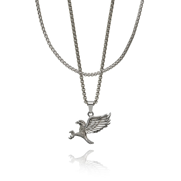 Eagle Boxchain - Sterling Silver