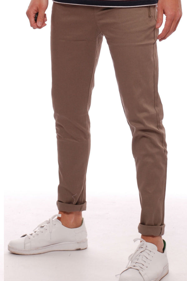 Zip Pocket Flex Pant Khaki/Sand