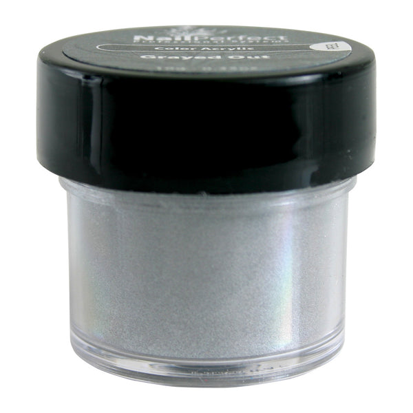 Color Acrylic Powder - #002 Grayed Out 10g