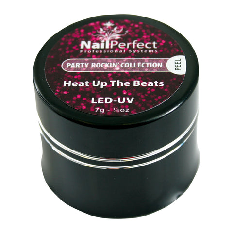 Color LED/UV Gels - #002 Heat Up The Beat 7g