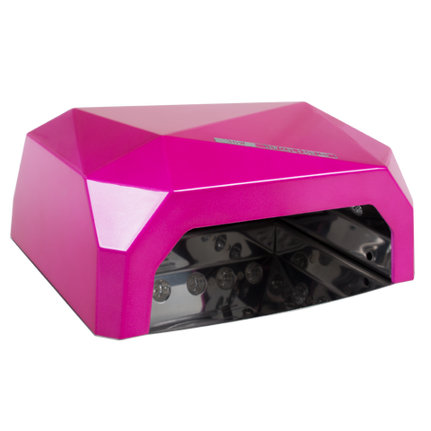 LED/UV CCFL Pink Combo Lamp - 4 Finger
