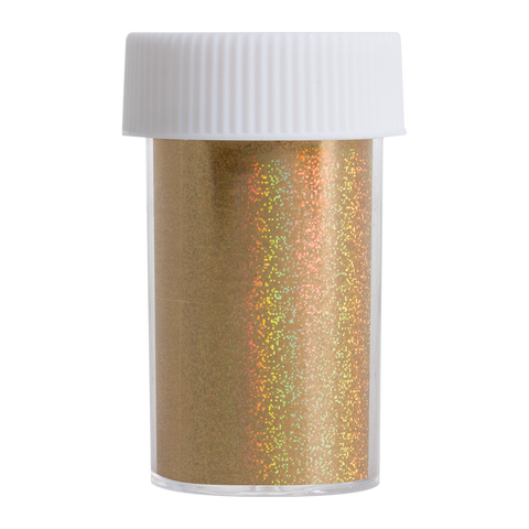 Transfer Foil Gold Holographic Glitter