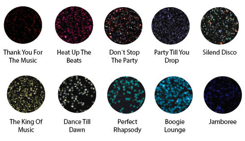 Color LED/UV Gels - Party Rockin Collection