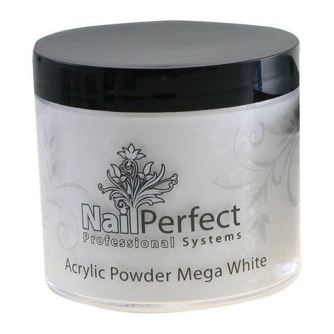 Premium Acrylic Powder - Mega White